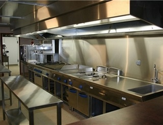 installation complte de cuisine pro - Nettoyage Hotte De Cuisine