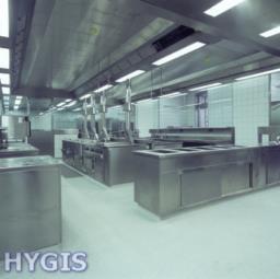 Installation de hotte de cuisine professionnelle restaurant hygis - Hotte de cuisine professionnelle ...